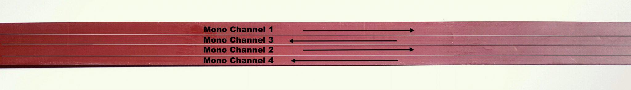 Audio Transfers Reel to Reel 4 Track Mono